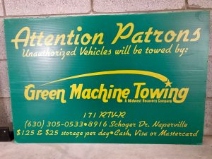 good advertising for towing ppt signage